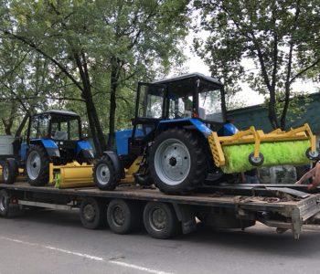 Нові трактори